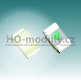 SMD LED dioda 0603 – bílá